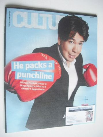 <!--2015-11-08-->Culture magazine - Michael McIntyre cover (8 November 2015