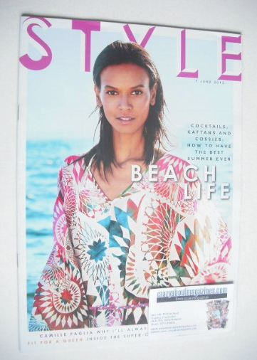 <!--2015-06-07-->Style magazine - Liya Kebede cover (7 June 2015)