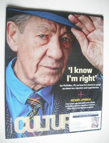 <!--2015-06-07-->Culture magazine - Ian McKellen cover (7 June 2015)