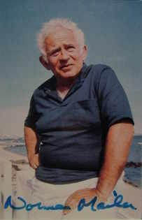 Norman Mailer autograph