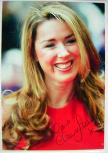 Claire Sweeney autograph (hand-signed photograph)
