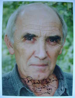 Donald Sumpter autograph (hand-signed photograph, dedicated)