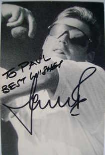 Shane Warne autograph