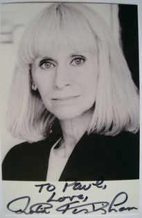 Rita Tushingham autograph