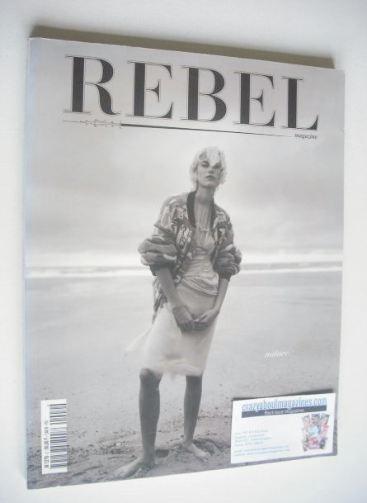 Rebel magazine - Delphine Bafort cover (Autumn/Winter 2001/2002)