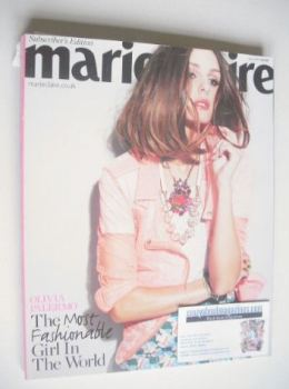 British Marie Claire magazine - June 2011 - Olivia Palermo cover (Subscriber's Issue)