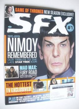 SFX magazine - Leonard Nimoy cover (June 2015)