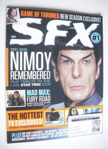 <!--2015-06-->SFX magazine - Leonard Nimoy cover (June 2015)