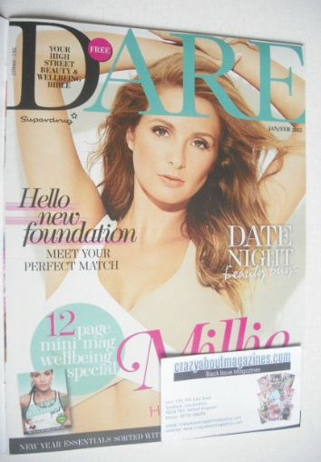 <!--2015-01-->Dare magazine - Millie Mackintosh cover (January/February 201