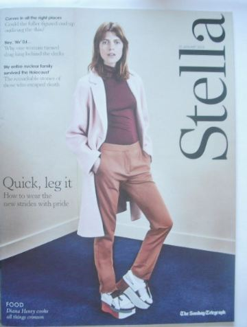 <!--2015-01-25-->Stella magazine - Quick Leg It cover (25 January 2015)