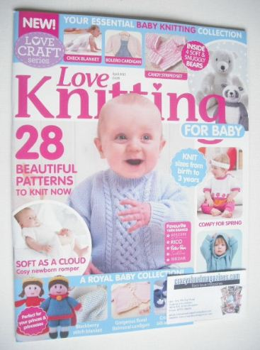 Love Knitting For Baby Magazine April 2015