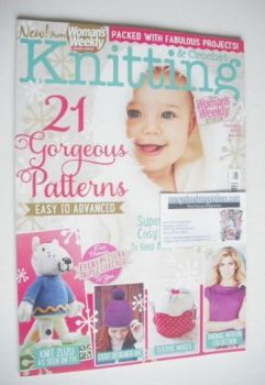 Woman's Weekly Knitting and Crochet magazine (January 2015)