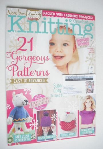<!--2015-01-->Woman's Weekly Knitting and Crochet magazine (January 2015)