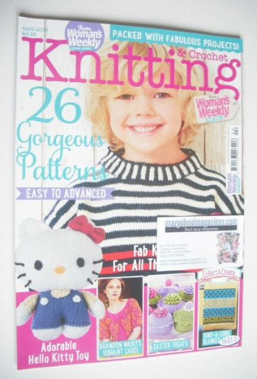 <!--2015-04-->Woman's Weekly Knitting and Crochet magazine (April 2015)