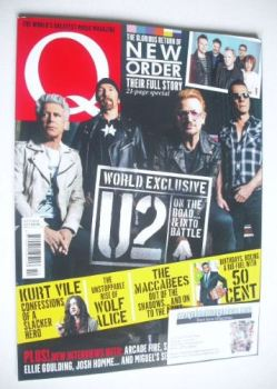 Q magazine - U2 cover (October 2015)