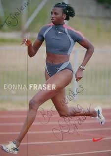 Donna Fraser autograph