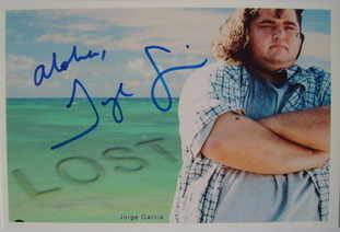 Jorge Garcia autograph