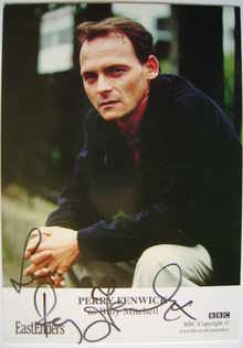Perry Fenwick autograph (EastEnders actor)