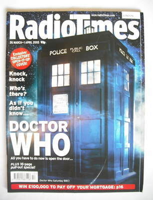 <!--2005-03-26-->Radio Times magazine - The Tardis cover (26 March - 1 Apri