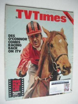 TV Times magazine - Des O'Connor cover (26 June - 2 July 1971)