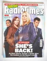 <!--2008-06-21-->Radio Times magazine - David Tennant, Billie Piper, Freema Agyeman and Catherine Tate cover (21-27 June 2008)