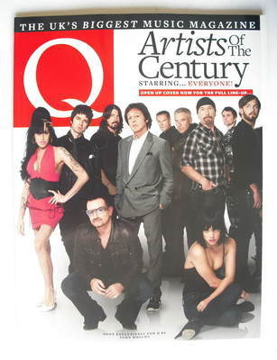 <!--2010-01-->Q magazine - Artists Of The Century cover (January 2010)