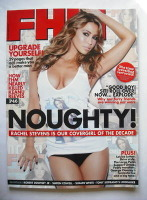 <!--2010-01-->FHM magazine - Rachel Stevens cover (January 2010)