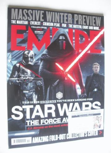 <!--2015-10-->Empire magazine - Star Wars cover (October 2015)