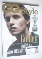 <!--2015-04-->British GQ Style magazine - Spring/Summer 2015 (Reddie Redmayne - Cover 1)