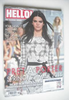Hello! Fashion magazine - Spring/Summer 2015 - Kendall Jenner cover