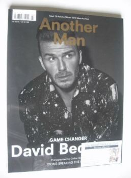Another Man magazine - Autumn/Winter 2014 - David Beckham cover
