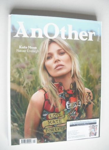 <!--2014-09-->Another magazine - Autumn/Winter 2014 - Kate Moss cover (Cove