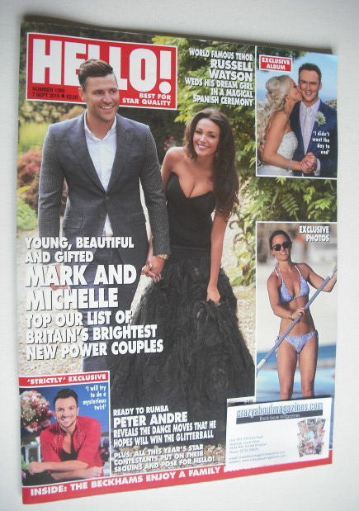 <!--2015-09-07-->Hello! magazine - Mark Wright and Michelle Keegan cover (7