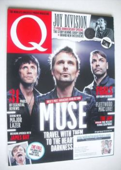 Q magazine - Muse cover (July 2015)