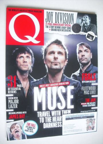 <!--2015-07-->Q magazine - Muse cover (July 2015)