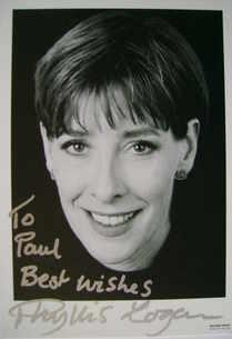 Phyllis Logan autograph