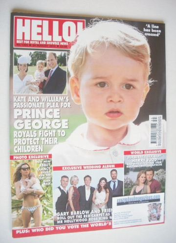 <!--2015-08-24-->Hello! magazine - Prince George cover (24 August 2015 - Is