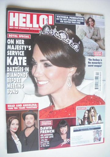 <!--2015-11-02-->Hello! magazine - The Duchess of Cambridge cover (2 Novemb