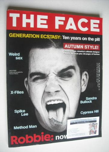 <!--1995-10-->The Face magazine - Robbie Williams cover (October 1995 - Vol