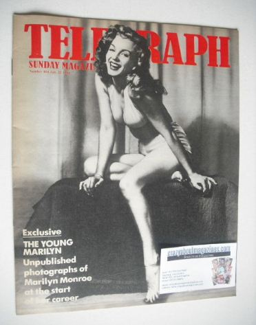<!--1984-07-22-->The Sunday Telegraph magazine - Marilyn Monroe cover (22 J