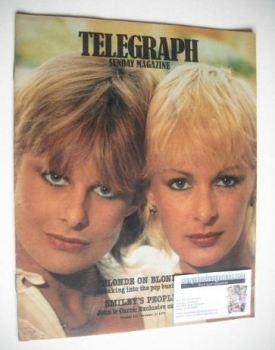 <!--1979-12-23-->The Sunday Telegraph magazine - Nina Carter and Jilly Johnson cover (23 December 1979)