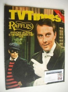 TV Times magazine - Anthony Valentine cover (19-25 February 1977)
