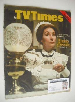 TV Times magazine - Jean Marsh cover (3-9 November 1973)