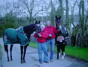 David Pipe autograph (Racehorse Trainer)