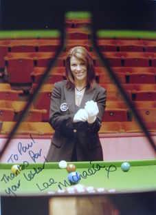 Michaela Tabb autograph