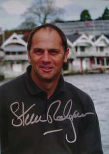 Sir Steve Redgrave autograph