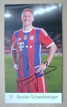 Bastian Schweinsteiger autograph