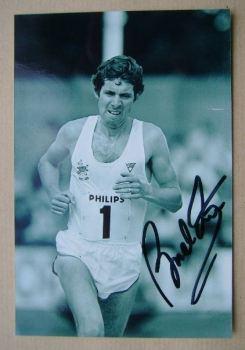 Brendan Foster autograph
