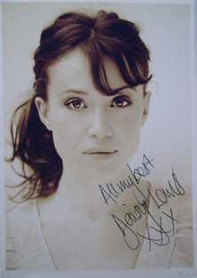Daisy Lewis autograph (hand-signed photograph)