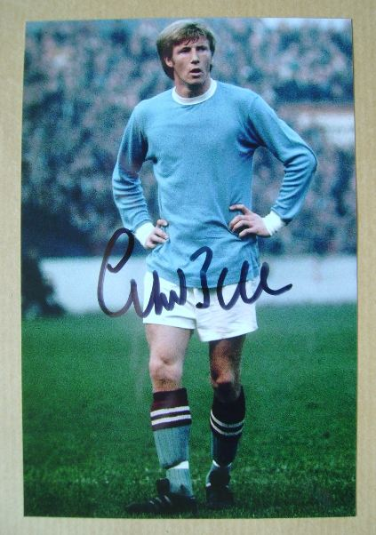 Colin Bell autograph